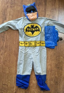 Batman costume sold by Ben Cooper Costumes.