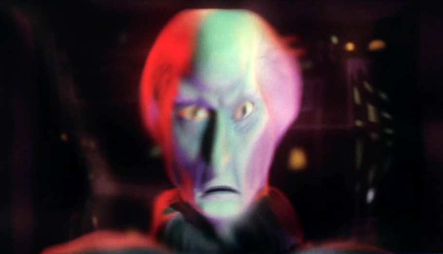 Balok as the crew of the Enterprise originally see him.