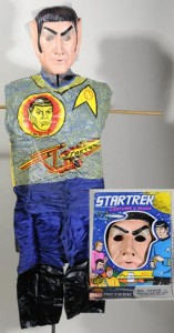The Mr. Spock costume manufactured by Ben Cooper in the 1970s.